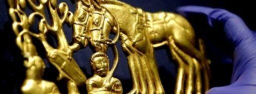 Скифское золото вернется в Украину, а не в оккупированный Крым