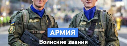 Воинские звания вооруженных сил привели к стандартам НАТО: полный список